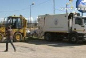 ΜΕΣΟΛΟΓΓΙ:Κατάσχεση οχημάτων του Δήμου απο τράπεζα.(ΒΙΝΤΕΟ)