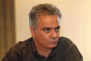 Ο Πάνος Σκουρλέτης στην ανοικτή συνέλευση του ΣΥΡΙΖΑ στο Μεσολόγγι