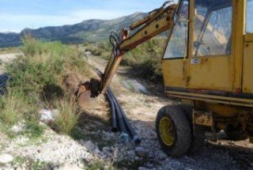 Με γρήγορους ρυθμούς προχωρούν τα έργα του δικτύου ύδρευσης στη «Παλιόβαρκα».