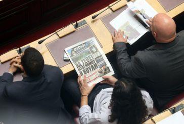 Να τεθεί εκτός νόμου… η Βουλή, διάβαζε ο Μπαρμπαρούσης