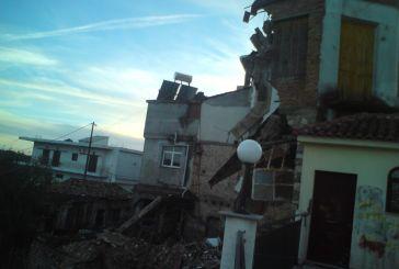 Κατερρευσε σπίτι στην Κατούνα (φωτό)