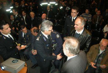 Tιμήθηκε στο Αγρίνιο ο αρχηγός της Πυροσβεστικής