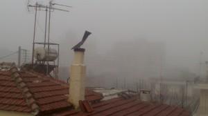 Και…  κανονική(;) ομίχλη από το πρωί