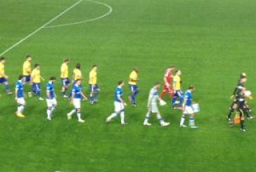 1-0 στο ημίχρονο προηγείται ο Παναιτωλικός