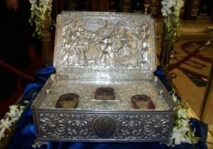 Τα Τιμία Δώρα στον Άγιο Νικόλαο Καινούργιο