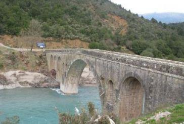 Ολιγόωρη διακοπή κυκλοφορίας στη Γέφυρα Τέμπλας την Τρίτη