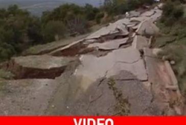 «Αποκομμένοι» οι κάτοικοι στο Ριγάνι Ναυπακτίας (video)