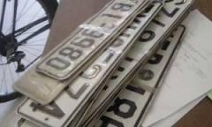 Αυξημένη  η παράδοση πινακίδων στην εφορία Βόνιτσας