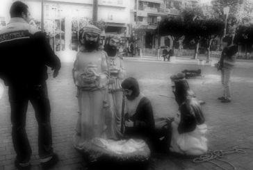 Η αποχώρηση των  Τριών Μάγων και του Ιωσήφ από την πλατεία Δημοκρατίας
