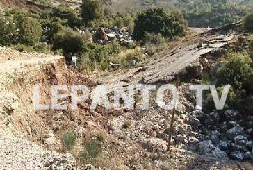Eκκενώθηκε οικισμός στη Ναυπακτία