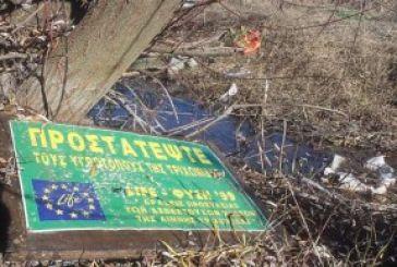 Ανεξέλεγκτες χωματερές παντού γύρω από τη λίμνη Τριχωνίδα