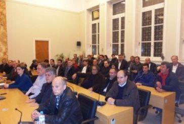 Συνάντηση Μοσχολιού με τους προέδρους των Κοινοτήτων