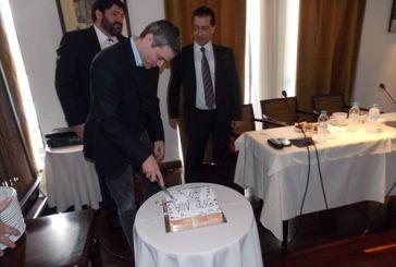 Mε τον Κρανιδιώτη έκοψε την πίτα η ΝΔ Αγρινίου (φωτό)
