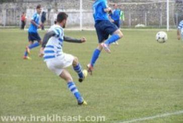 Ισόπαλος 1-1 ο Ηρακλής Αστακού εκτός έδρας με τον Αμφίλοχο