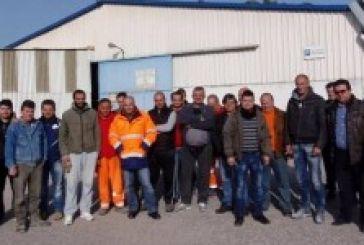 Συνάντηση Kατσούλη με τους εργαζόμενους της RIGIPS