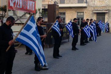 Εγκαίνια για τα γραφεία της Χρυσής Αυγής στο Μεσολόγγι (φωτό-video)
