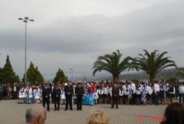 Ο εορτασμός της 25ης Μαρτίου στην Αμφιλοχία (VIDEO)