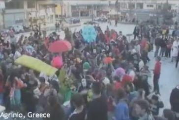 """Βίντεο από το """"Harlem Shake"""" στην Πλατεία Δημάδη"""