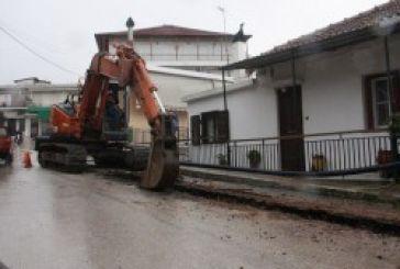 Κατούνα: Συνεχίζεται το έργο αντικατάστασης δικτύου ύδρευσης