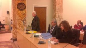 Το αντίο Σταμάτη και το θέμα της Χ.Α. στο δημοτικό συμβούλιο Αγρινίου