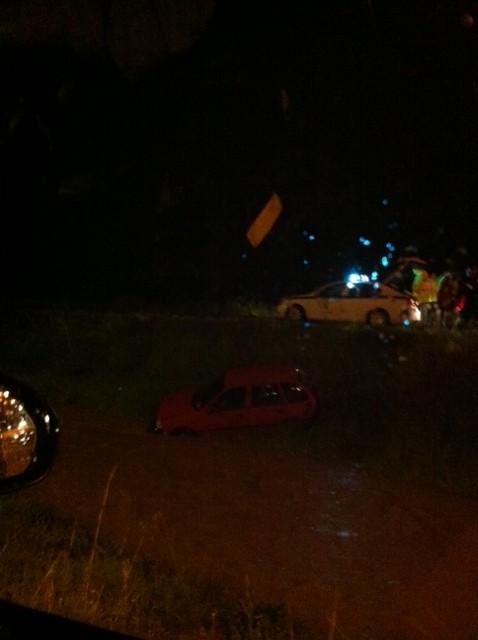 Αυτοκίνητο έπεσε στο ποτάμι του Σκά