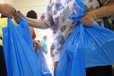 Δωρεάν διανομή τροφίμων σε άπορες οικογένειες του δήμου Ι.Π. Μεσολογγίου