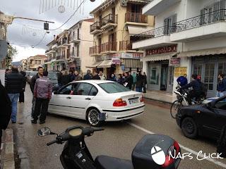 Τώρα: Έκλεισαν το δρόμο οι επαγγελματίες της Ναυπάκτου