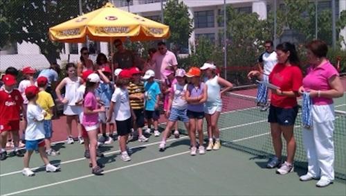 Aγώνες τένις για παιδιά στο Αγρίνιο