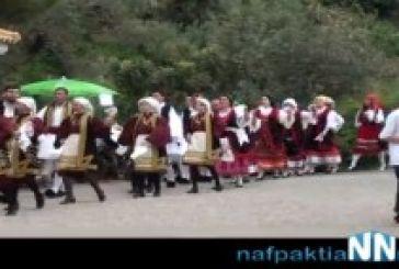 Το παραδοσιακό γαϊτανάκι στη Σκάλα Ναυπακτίας (video)