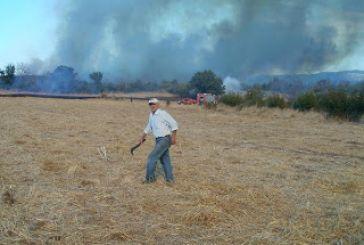 Eνισχύσεις και Αιτωλοακαρνάνων αγροτών για πυρκαγιές του 2011