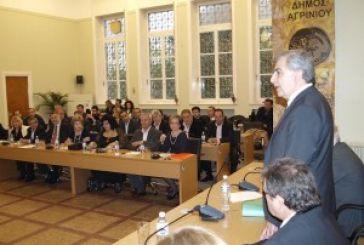 H ατζέντα του δημοτικού συμβουλίου Αγρινίου