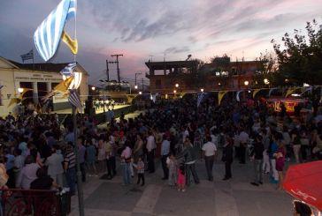Πλήθος κόσμου στον  Άγιο Κωνσταντίνο (φωτό)