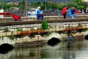 Παράνομη αλιεία στη λιμνοθάλασσα του Αιτωλικού