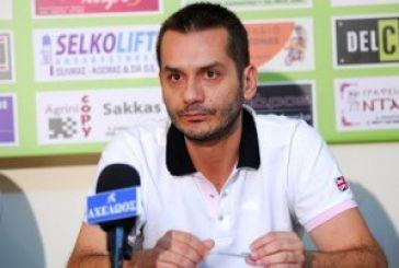 Xρήστος Φιλιππιάδης: Αποχωρώ από τον Α.Ο.Αγρινίου