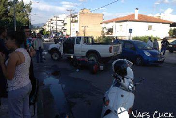 Τροχαίο ατύχημα στο Βερόπουλο στη Ναύπακτο