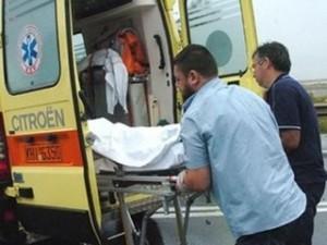 66χρονος τραυματίας σε Τροχαίο στο Παναιτώλιο