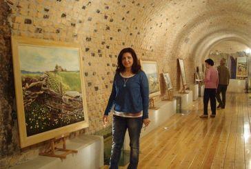 Ατομική έκθεση της αγρινιώτισσας ζωγράφου Τίνας Μανδέλου – Τσαμπόκα