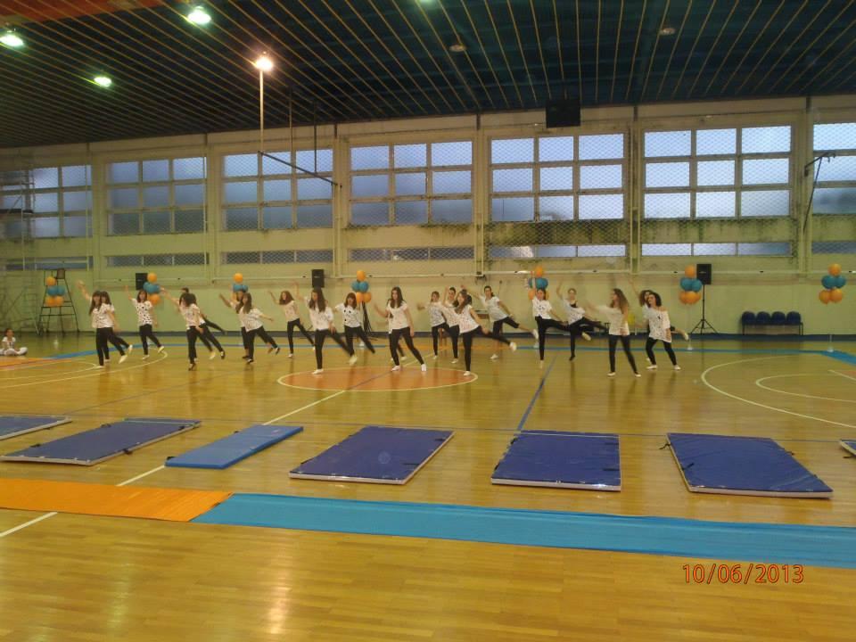 Επίδειξη ρυθμικής γυμναστικής από τη ΓΕΑ (φωτό-video)