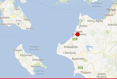 """3,8 ρίχτερ """"κούνησαν"""" τη Δυτική Ελλάδα"""
