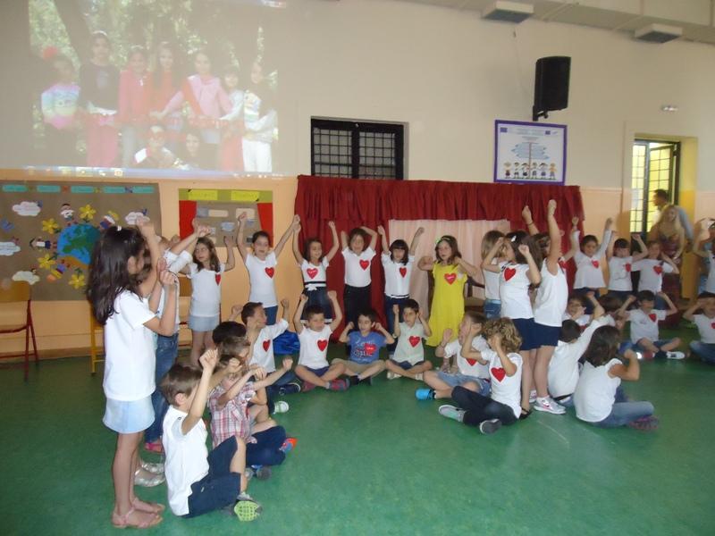 Εκπαιδευτικοί από 5 χώρες στο 5o Δημοτικό σχολείο