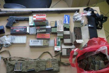 """Η αστυνομία για το """"οπλοστάσιο"""" στη Νέα Αβώρανη"""
