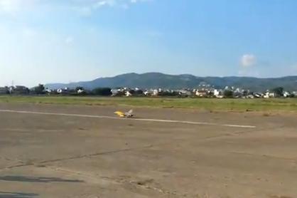 F-16… απογειώνεται από το αεροδρόμιο του Αγρινίου