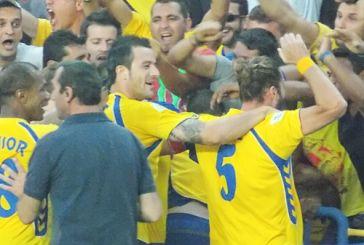 Φωτό από τον αγώνα Παναιτωλικός-Ολυμπιακός Βόλου 2-1