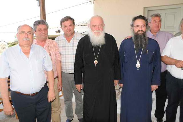 Στη Λευκάδα ο Αρχιεπίσκοπος Αθηνών Ιερώνυμος