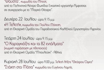 """""""Θεάτρου Όψεις"""": Συνάντηση θεατρικών ερασιτεχνικών ομάδων"""