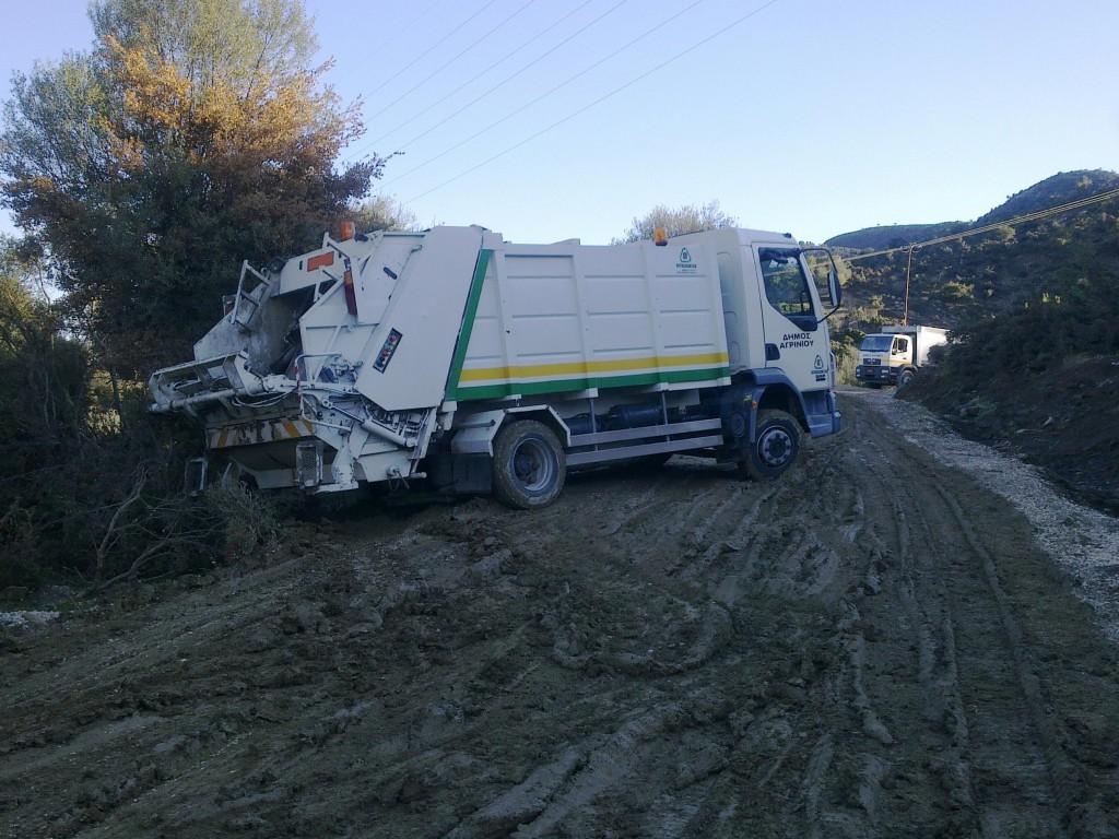 Αντιδράσεις και σύσκεψη στη Στράτο για τα σκουπίδια του Πύργου
