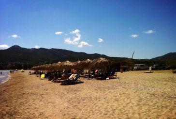 Πάλαιρος: Παραλία Ποταμάκι!  (σήμερα μεσημέρι)