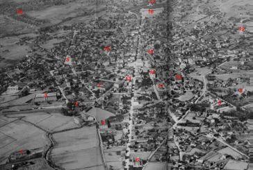 To Aγρίνιο από ψηλά στις δεκαετίες των '40 και '50