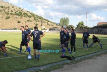 Ποδοσφαιρικός Αγώνας Βετεράνων στην Αμφιλοχία