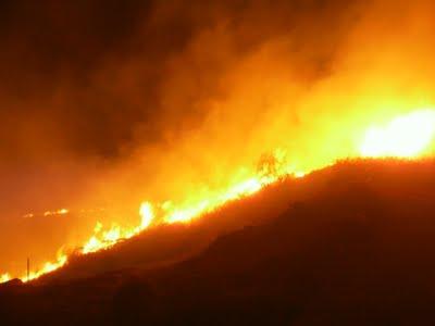 Ερώτηση  για αποζημιώσεις αγροτών από πυρκαγιά στην Περατιά